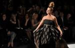 JillZarin walks the fashion show